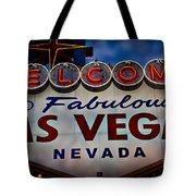 Welcome To Fabulous Las Vegas 2 Tote Bag