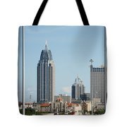 Welcome To Mobile Tote Bag