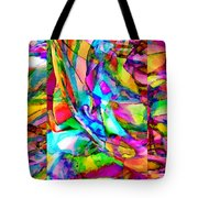 Welcome To My World Triptych Horizontal Tote Bag