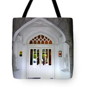 Welcome To The Manor Tote Bag