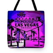Welcome To Vegas No.2 Tote Bag