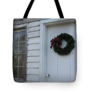 Welcoming Wreath  Tote Bag
