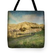 We'll Walk These Hills Together Tote Bag