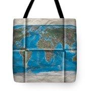 Well Worn World Tote Bag