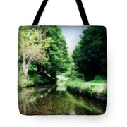 Welsh Canal Dream Tote Bag