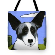 Welsh Cardigan Corgi Tote Bag