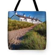 Welsh Cottages Tote Bag by Adrian Evans