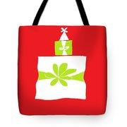 Welsh Merry Christmas Red Tote Bag