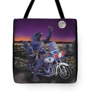 Werewolf Patrol Tote Bag