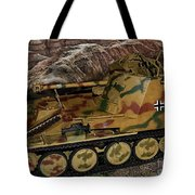 Wespe 105 Mm Self-propelled Gun Tote Bag