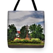 West Ferry Circle Tote Bag