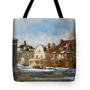 West Ferry Street Tote Bag