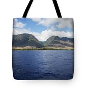 West Maui Mountains Tote Bag