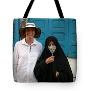 West Meets Middleeast Tote Bag
