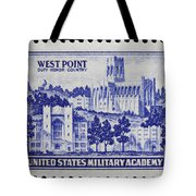 West Point Postage Stamp Tote Bag