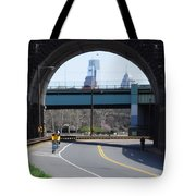 West River Drive Philadelphia Tote Bag