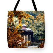 West Virginia Morn Tote Bag