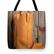 Western Boots And Spurs Tote Bag