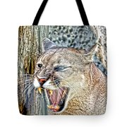 Western Cougar Tote Bag