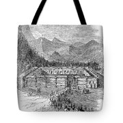 Western Fort, 19th Century Tote Bag