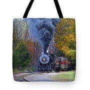 Western Maryland Steam Train Tote Bag