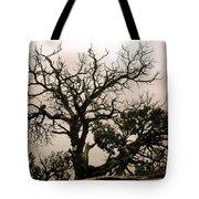 Western Winter Tree Tote Bag