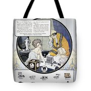 Westinghouse Ad, 1924 Tote Bag by Granger