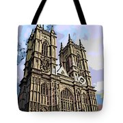 Westminster Abbey Tote Bag