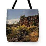 Westward Across The Mesa Tote Bag