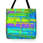 Wet Drippy Paint Tote Bag