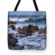 Wet Lava Rocks Tote Bag