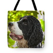 Wet Puppy 2 Tote Bag