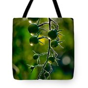Wet Tomatoes Tote Bag