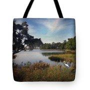 Wetlands - Oil Painting Effect Tote Bag