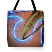 Whale Into Blue Wave Tote Bag