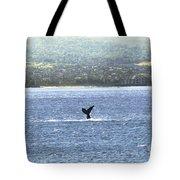Whale Tail II Tote Bag