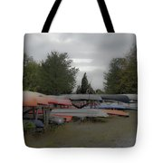 What Do Canoes Dream Of Tote Bag