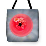What Is It II    View Down The Drinking Straw  Tote Bag
