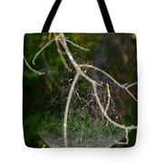 What Webs We Weave Tote Bag