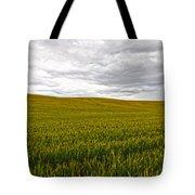 Wheat Field Homestead Tote Bag