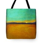 Wheat Field At Sunset Tote Bag