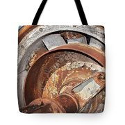 Wheel And Axle Tote Bag