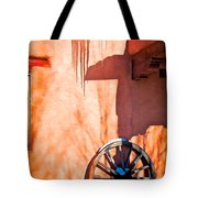 Wheel And Ice Tote Bag