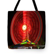 Wheel In The Sky Tote Bag by Gordon Dean II
