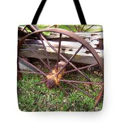 Wheel In Time Photograph Tote Bag