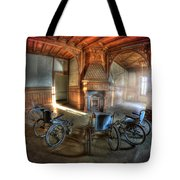 Wheel Up The Four Tote Bag