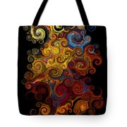 Wheels Keep On Turning Tote Bag