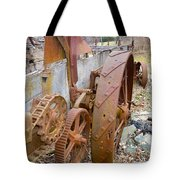 Wheels Through Time Tote Bag