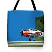 Wheels Up Tote Bag