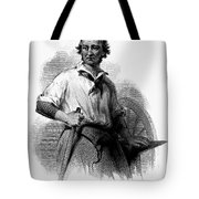 Wheelwright, 19th Century Tote Bag